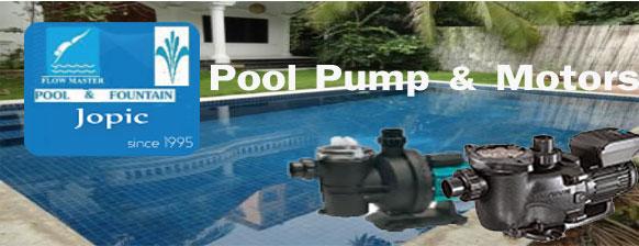 Supplier of Pool Pump - JOPIC POOL