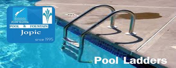 Pool Ladder supplier in Pakistan - JOPIC POOL