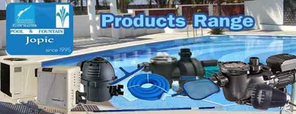 Swimming Pool Products range