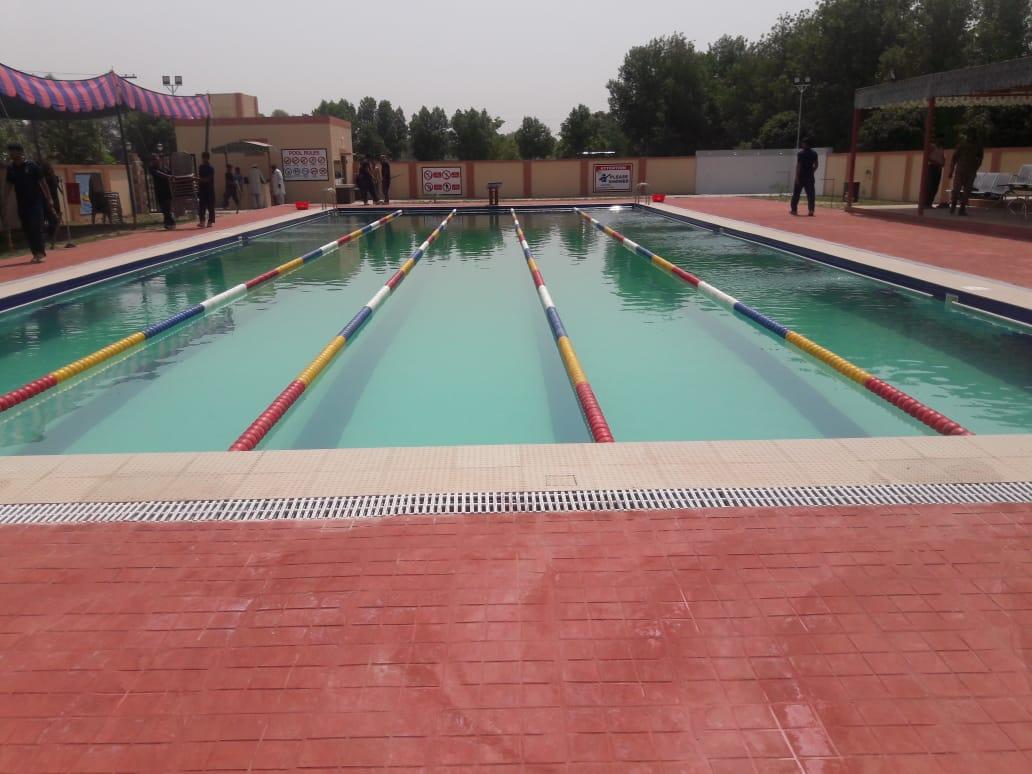 Commercial swimming pool, Al Buraq -  Okara Cantt. Pakistan